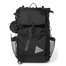 and wander / アンドワンダー | X-Pac 30L backpack - Black