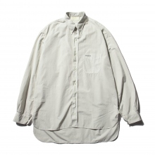 "NEON SIGN / ネオンサイン | ARCHIVE #01 ""B.D.WORK SHIRT"" - Oyster"