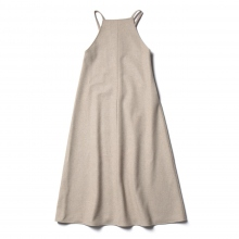 AURALEE / オーラリー | LIGHT MELTON LONG ONE-PIECE (レディース) - Top Beige
