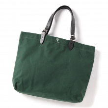 South2 West8 / サウスツーウエストエイト | 18oz Canvas Canal Park Tote - Tall - Hunter Green