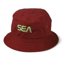 WIND AND SEA / ウィンダンシー | SEA (SPC) BUCKET HAT - Burgandy