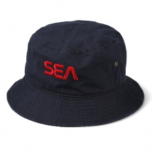 WIND AND SEA / ウィンダンシー | SEA (SPC) BUCKET HAT - Navy