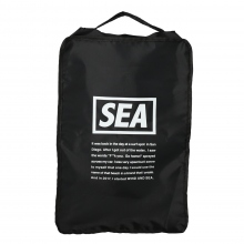 WIND AND SEA / ウィンダンシー | WDS TRAVEL POUCH (LARGE) - Black