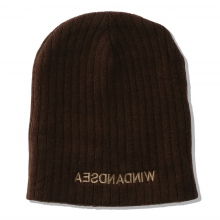 WIND AND SEA / ウィンダンシー | WDS CABLE BEANIE - Brown
