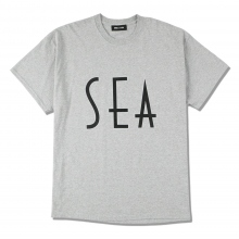 WIND AND SEA / ウィンダンシー | SEA (wavy) T-SHIRTS - Gray ☆
