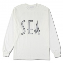 WIND AND SEA / ウィンダンシー | SEA (wavy) L/S T-SHIRT - White