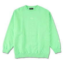 WIND AND SEA / ウィンダンシー | SEA (pigment-dye) SWEATSHIRT - Fs Green