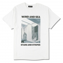 WIND AND SEA / ウィンダンシー | WDS (STARS AND STRIPES) PHOTO T-SHIRT - White ☆
