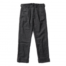【Point 10% 9/29まで】ENGINEERED GARMENTS | Andover Pant - Wool Homespun - Charcoal