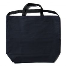 ENGINEERED GARMENTS / エンジニアドガーメンツ | Carry All Tote w/ Strap - Cotton Double Cloth - Dk.Navy