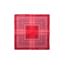 N.HOOLYWOOD / エヌハリウッド | 182-AC06 pieces BANDANA SMALL SIZE - Red