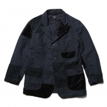ENGINEERED GARMENTS / エンジニアドガーメンツ | Bedford Jacket - Double Cloth - Navy