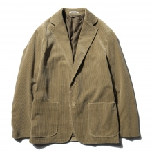 AURALEE / オーラリー | WASHED CORDUROY JACKET - Light Khaki ☆