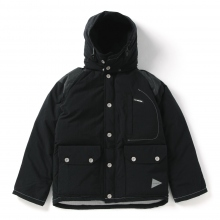 and wander / アンドワンダー | down jacket (M) - Black