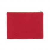 NAISSANCE / ネサーンス|LARGE BI-COLOR POUCH - Red