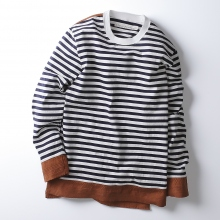 【Point 10% 10/20まで】CURLY / カーリー | CONFUSED LS BORDER TEE
