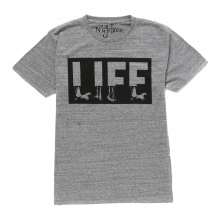 NuGgETS / ナゲッツ | NuGgETEE 「LIFE」 S/S-Tee - Heather
