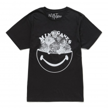 NuGgETS / ナゲッツ | NuGgETEE 「MIND GAMES」 S/S-Tee - Black