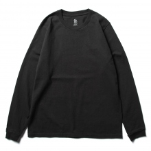 BATONER / バトナー | DRY TOUCH CREW NECK SHIRT (メンズ) - Black