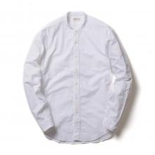 NAISSANCE / ネサーンス|BAND COLLAR O.X SHIRT - White