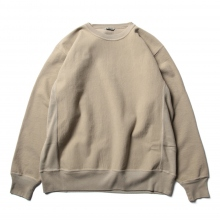 AURALEE / オーラリー | SUPER MILLED SWEAT P/O - Khaki Gray