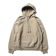 AURALEE / オーラリー | SUPER MILLED SWEAT P/O PARKA - Khaki Gray
