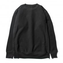 AURALEE / オーラリー | SUPER MILLED SWEAT P/O - Black