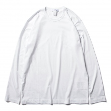 COMME des GARCONS SHIRT | FOREVER / LONG SLEEVE T-SHIRT - White