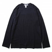 COMME des GARCONS SHIRT | FOREVER / LONG SLEEVE T-SHIRT - Navy