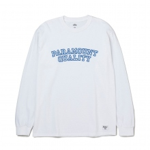 BEDWIN / ベドウィン | L/S C-NECK PRINT T 「LURIE」 - White