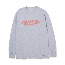 BEDWIN / ベドウィン | L/S C-NECK PRINT T 「LURIE」 - Gray
