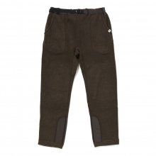 and wander / アンドワンダー | fleece pants - brown