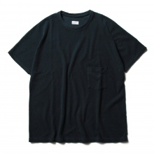 URU / ウル | COTTON PILE S/S TEE - Navy