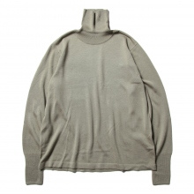 URU / ウル | TURTLE NECK KNIT - Sage
