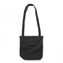 ENGINEERED GARMENTS / エンジニアドガーメンツ | Shoulder Pouch - Fake Melton - Charcoal