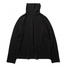 Porter Classic / ポータークラシック | BLACK C/S TURTLENECK - Black