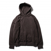 AURALEE / オーラリー | DOUBLE CLOTH PUFFER P/O PARKA - Dark Brown