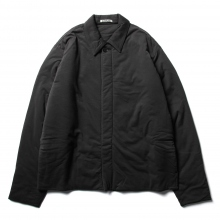 AURALEE / オーラリー | DOUBLE CLOTH PUFFER BLOUSON - Ink Black