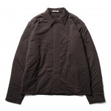 AURALEE / オーラリー | DOUBLE CLOTH PUFFER BLOUSON - Dark Brown