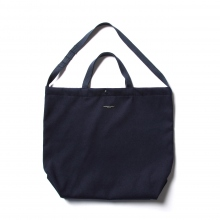 ENGINEERED GARMENTS / エンジニアドガーメンツ | Carry All Tote - Fake Melton - Navy