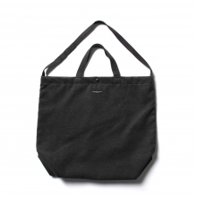 ENGINEERED GARMENTS / エンジニアドガーメンツ | Carry All Tote - Fake Melton - Charcoal