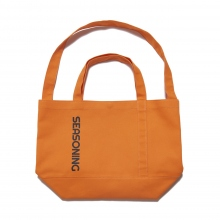 SEASONING / シーズニング | BIG TOTE BAG - Orange ∞