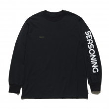 SEASONING / シーズニング | SEASONING L/S TEE - Black