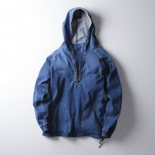 【Point 10% 10/20まで】CURLY / カーリー | MAZARINE HZ PARKA - Antique Indigo