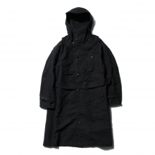 【Point 10% 9/29まで】ENGINEERED GARMENTS | Riding Coat - Cotton Double Cloth - Black