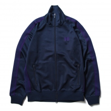 Needles / ニードルズ | Track Jacket - Poly Smooth - Navy