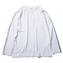 NEON SIGN / ネオンサイン | Pastel Long Sleeve T-Shirts - White