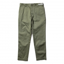 UNIVERSAL PRODUCTS / ユニバーサルプロダクツ | ORIGINAL TAPERED CHINO TROUSERS - Olive