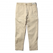 UNIVERSAL PRODUCTS / ユニバーサルプロダクツ | ORIGINAL TAPERED CHINO TROUSERS - Beige