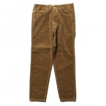 WESTOVERALLS / ウエストオーバーオールズ | 8W CORDUROY TROUSERS. 806T - Brown